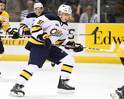 Alex Gritz of the Erie Otters. Photo by Aaron Bell/OHL Images
