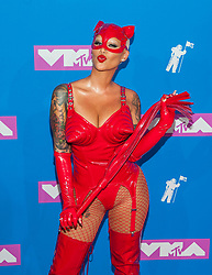 August 21, 2018 - New York City, New York, USA - 8/20/18.Amber Rose at the 2018 MTV Video Music Awards at Radio City Music Hall in New York City. (Credit Image: © Starmax/Newscom via ZUMA Press)