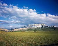 Rocky Mountain Front ranges near Choteau Montana USA