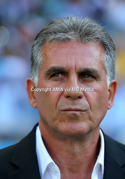 Carlos Queiroz manager / head coach of Iran