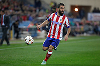 Atletico de Madrid´s Arda Turan during Champions League soccer match between Atletico de Madrid and Olympiacos at Vicente Calderon stadium in Madrid, Spain. November 26, 2014. (ALTERPHOTOS/Victor Blanco)