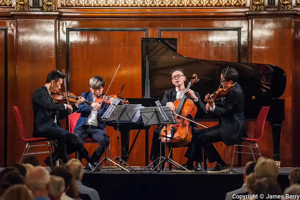 T'ang Quartet, Merchant Taylors' Hall, 29 June 2015.