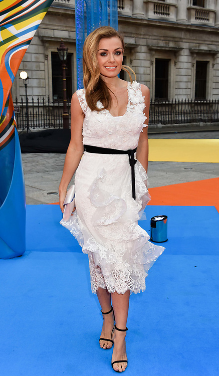 Katherine Jenkins at the Royal Academy of Arts Summer Exhibition Preview Party 2017, Burlington House, London England. 7 June 2017.