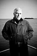 Portraits of author Steve Martini.  Photographed in 2008 in Bellingham, WA by Brian Smale for Harper Collins publishing.