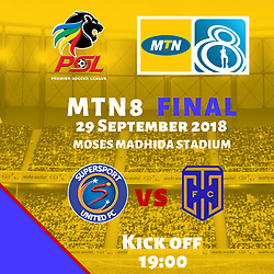 29,09,2018 MTN8 final SuperSport United and Cape Town City