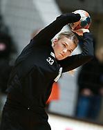Tess Wester fra Odense Håndbold før semifinalen i HTH Dameligaen mellem Herning-Ikast Håndbold i IBF Arena, Ikast, Danmark, den 01.05.2019. Photo Credit: Allan Jensen/EVENTMEDIA.