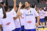 Filippo Baldi Rossi<br /> Nazionale Italiana Maschile Senior<br /> Torneo di Tolosa<br /> Belgio Italia Belgium Italy<br /> FIP 2017<br /> Tolosa, 19/08/2017<br /> Foto M.Ceretti / Ciamillo - Castoria