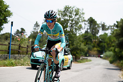 Tetiana Riabchenko (INPA) on the climb at Giro Rosa 2016 - Stage 7. A 21.9 km individual time trial from Albisola to Varazze, Italy on July 8th 2016.