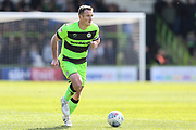 Forest Green Rovers Lee Collins(5) runs forward during the EFL Sky Bet League 2 match between Forest Green Rovers and Exeter City at the New Lawn, Forest Green, United Kingdom on 4 May 2019.