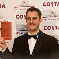 London Jan 27   Adam Foulds attends the Costa Book Award at the Intercontinental Hotel in Lonodn England on January 27 2009...***Standard Licence  Fee's Apply To All Image Use***.XianPix Pictures  Agency . tel +44 (0) 845 050 6211. e-mail sales@xianpix.com .www.xianpix.com