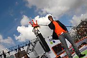538 - Koninginnedag op Museumplein.<br /> <br /> Op de foto:<br /> <br />  Simon Webbe