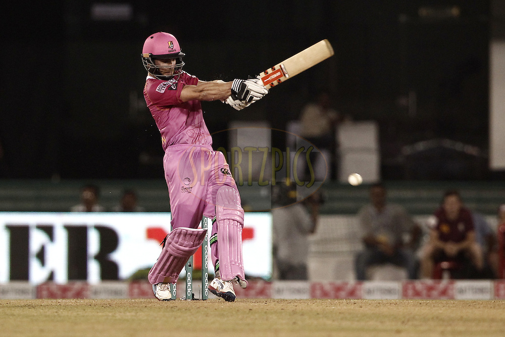 Kane Williamson of the NORTHERN KNIGHTS bats during match 3 of the Oppo Champions League Twenty20 between the Cape Cobras and the Northern Knights held at the Chhattisgarh International Cricket Stadium, Raipur, India on the 19th September 2014<br /> <br /> Photo by:  Deepak Malik / Sportzpics/ CLT20<br /> <br /> <br /> Image use is subject to the terms and conditions as laid out by the BCCI/ CLT20.  The terms and conditions can be downloaded here:<br /> <br /> http://sportzpics.photoshelter.com/gallery/CLT20-Image-Terms-and-Conditions-2014/G0000IfNJn535VPU/C0000QhhKadWcjYs