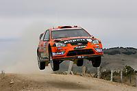 MOTORSPORT - WRC 2010 - RALLY MEXICO GUANAJUATO BICENTENARIO - MEXICO (MEX) - 04 TO 07/03/2010 - PHOTO : FRANCOIS BAUDIN / DPPI<br /> HENNING SOLBERG (NOR) / ILKA MINOR (AUT) - STOBART MOTORSPORT - FORD FOCUS WRC - ACTION