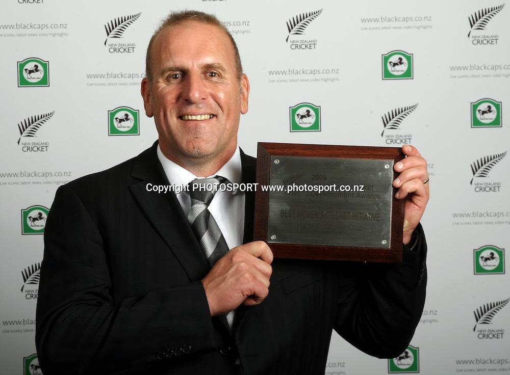 New Zealand Cricket Awards for the 2008/09 season at the Sky City Grand Hotel in Auckland on Thursday 22 October 2009. Photo: Andrew Cornaga/PHOTOSPORT