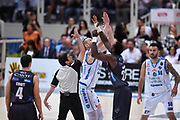 Savanovic Dusko , Hogue Dustin<br /> Quarti di Finale Gara 2<br /> Legabasket A 2016,2017<br /> Trento 14,05,2017<br /> Foto Ciamillo-Castoria,GiulioCiamillo
