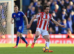 Joe Allen of Stoke City - Mandatory by-line: Paul Roberts/JMP - 04/11/2017 - FOOTBALL - Bet365 Stadium - Stoke-on-Trent, England - Stoke City v Leicester City - Premier League