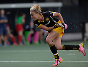 Den Bosch's Maartje Paumen scores the opening goal against Monkstown during their opening game of the EHCC 2017 at Den Bosch HC, The Netherlands, 2nd June 2017