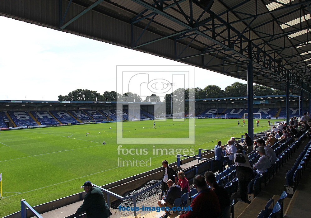 Picture by Michael Sedgwick/Focus Images Ltd +44 7900 363072.08/09/2012.General view of the Gigg Lane Stadium, Bury.