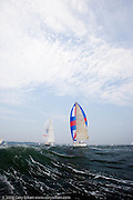 Selene racing at the Newport Bucket Regatta.