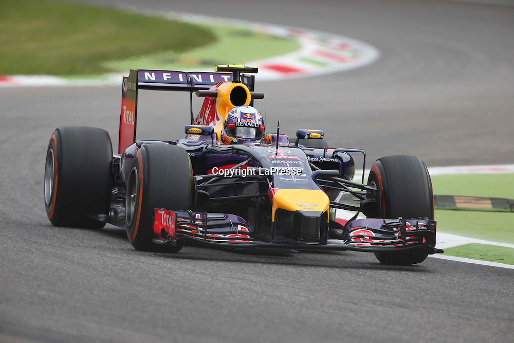 &copy; Photo4 / LaPresse<br /> 05/09/2014 Monza, Italy<br /> Sport <br /> Grand Prix Formula One Italy 2014<br /> In the pic: Daniel Ricciardo (AUS) Red Bull Racing RB10