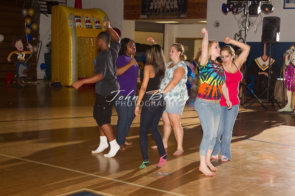 """Madison County High School After Prom 2012.  Theme:  """"A Step in Time"""", """"Childhood Memories-Class of 2012""""."""