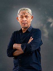Edinburgh, Scotland, UK. 24 August 2019. Goenawan Mohamad.  Goenawan Mohamad is a legend in Indonesia. A poet, essayist, playwright and editor, his decades of work amount to an incredible body of fiction and non-fiction.  Iain Masterton/Alamy Live News.