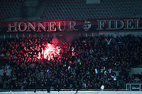 Supporters Nice - 03.12.2014 - Nice / Rennes - 16eme journee de Ligue 1 -<br /> Photo : Jean Christophe Magnenet / Icon Sport