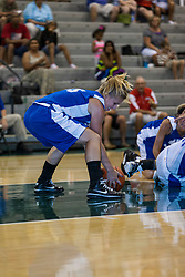 16 June 2012: Samantha Ellsworth. Illinois Basketball Coaches Association (IBCA) Girls All Star game at the Shirk Center in Bloomington IL