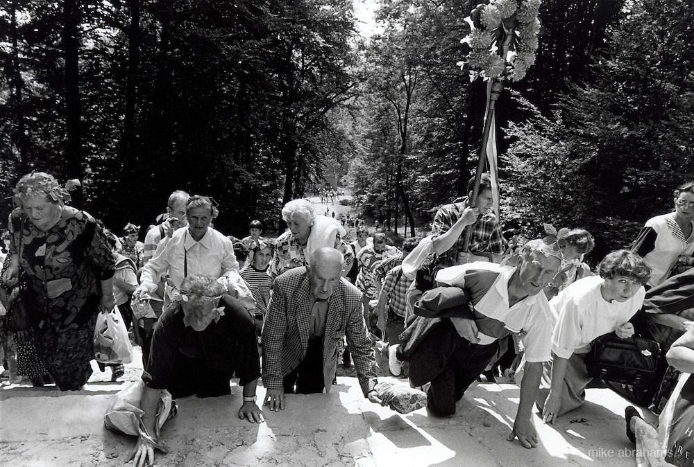 Pilgrimage to Kalwaria Zebrzdowska, Festival of the Assumption. August 15th, 1997. Poland