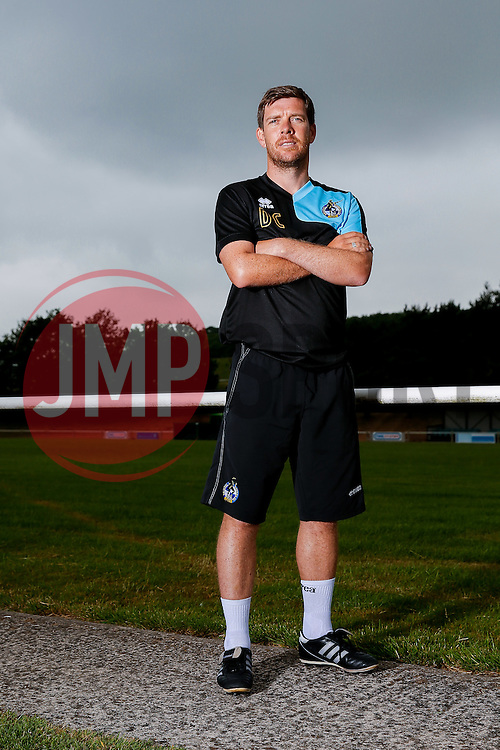Manager Darrel Clarke poses for a portrait as Bristol Rovers return to training ahead of their 2015/16 Sky Bet League Two campaign - Photo mandatory by-line: Rogan Thomson/JMP - 07966 386802 - 02/07/2015 - SPORT - Football - Bristol, England - The Lawns Training Ground, Henbury - Sky Bet League Two.