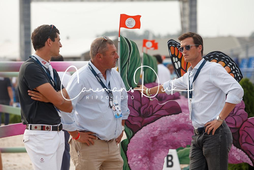 Philippaerts Nicola, Philippaerts Ludo, Philippaerts Olivier, BEL,<br /> World Equestrian Games - Tryon 2018<br /> © Hippo Foto - Sharon Vandeput<br /> 23/09/2018