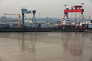 Saint Nazaire, 29/10/2014: STX Cantieri Navali - Shipyard.<br /> &copy; Andrea Sabbadini