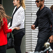 NLD/Amsterdam/20140605 - Doutzen Kroes en partner Sunnery James,