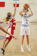 DESCRIZIONE : Chieti Qualificazione Eurobasket Women 2009 Italia Turchia <br /> GIOCATORE : Ballardini<br /> SQUADRA : Nazionale Italia Donne <br /> EVENTO : Raduno Collegiale Nazionale Femminile<br /> GARA : Italia Turchia Italy Turkey <br /> DATA : 27/08/2008 <br /> CATEGORIA : tiro<br /> SPORT : Pallacanestro <br /> AUTORE : Agenzia Ciamillo-Castoria/M.Marchi <br /> Galleria : Fip Nazionali 2008 <br /> Fotonotizia : Chieti Qualificazione Eurobasket Women 2009 Italia Turchia <br /> Predefinita : si