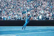 Luke Kuechly Carolina Panthers. Photo by Tom Hauck.