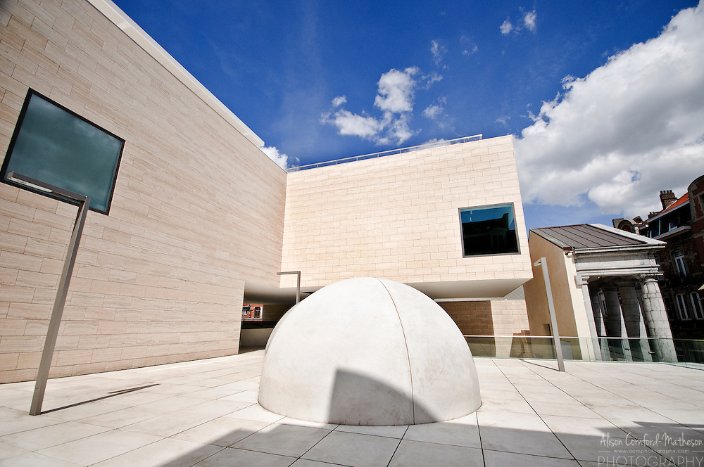The M Museum in Leuven, Belgium has won awards for its architecture and art collection.