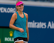 Angelique Kerber of Germany practices at the 2018 US Open Grand Slam tennis tournament, New York, USA, August 21th 2018, Photo Rob Prange / SpainProSportsImages / DPPI / ProSportsImages / DPPI