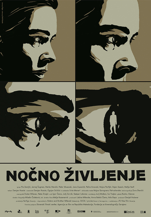 Poster for feature film Nightlife - Nočno življenje directed by Damjan Kozole. Still photographer: Željko Stevanić/IFP