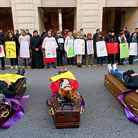 Manifestazione  lavoratori della sanità privata contro i licenziamenti (2)