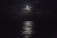 North Atlantic Ocean, October 2014.<br /> Full Moon. &copy; Chiara Marina Grioni
