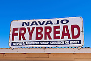 Navajo frybread for sale at Four Corners Monument, Navajo Indian Reservation, New Mexico