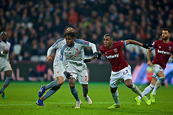 LONDON, ENGLAND - Monday, February 4, 2019: Liverpool's substitute Divock Origi during the FA Premier League match between West Ham United FC and Liverpool FC at the London Stadium. (Pic by David Rawcliffe/Propaganda)