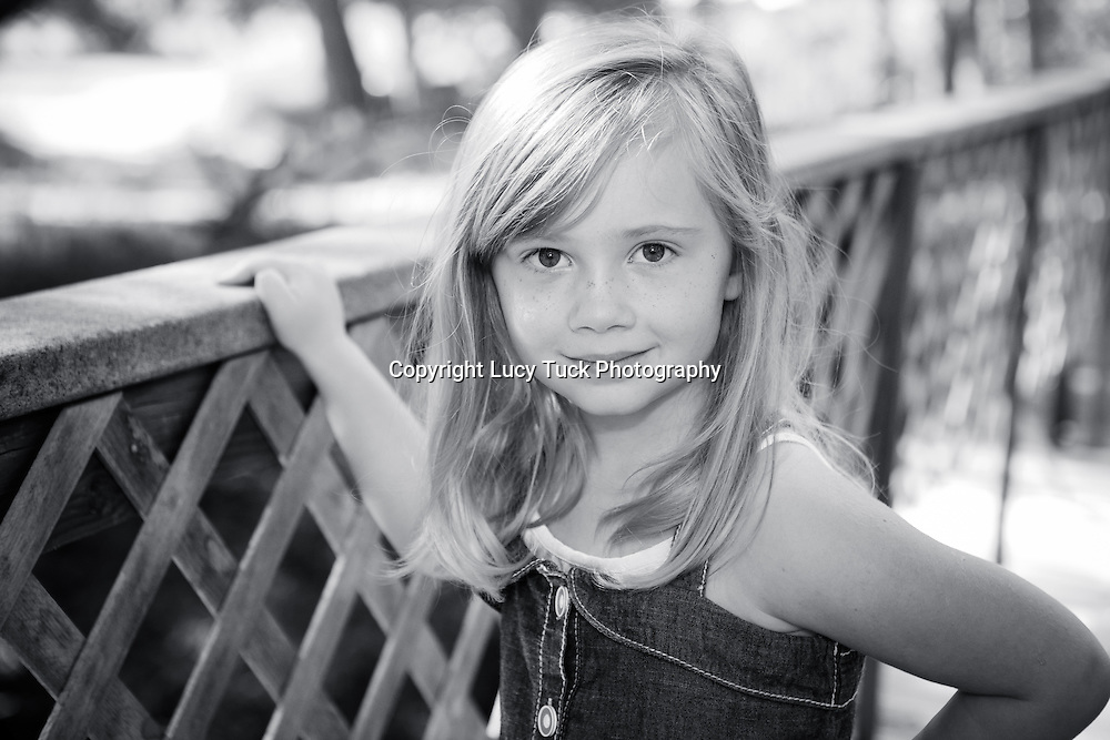Black and White child portrait, Longmont