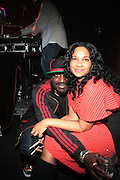 """l to r: Corey Smith and Jean Grae at BlackSmith Presents """" The Night before the Night before Christmas Produced by Jill Newman Productions held at Highline Ballroom on December 23, 2009 in New York City."""