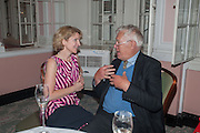 JANE THYNNE; RICHARD INGRAMS The Oldie - 20th anniversary party. Simpson's-in-the-Strand, 100 Strand, London, WC2. 19 July 2012