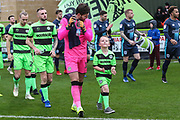 Forest Green Rovers goalkeeper James Montgomery during the EFL Sky Bet League 2 match between Forest Green Rovers and Bury at the New Lawn, Forest Green, United Kingdom on 19 January 2019.