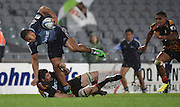 George Moala during the Blues v Chiefs Super Rugby match at Eden Park, Auckland, New Zealand. Saturday 11 July 2014. Photo: Andrew Cornaga/Photosport.co.nz