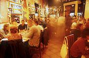 Unknown restaurant, North Beach, San Francisco. 2001