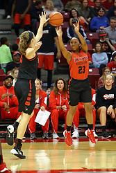 07 October 2016: Viria Livingston. Illinois State University Women's Redbird Basketball team during Hoopfest at Redbird Arena in Normal Illinois.