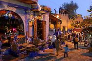 Plaza Uta el Hammam, Chefchaouen, Rif Mountains, Morocco